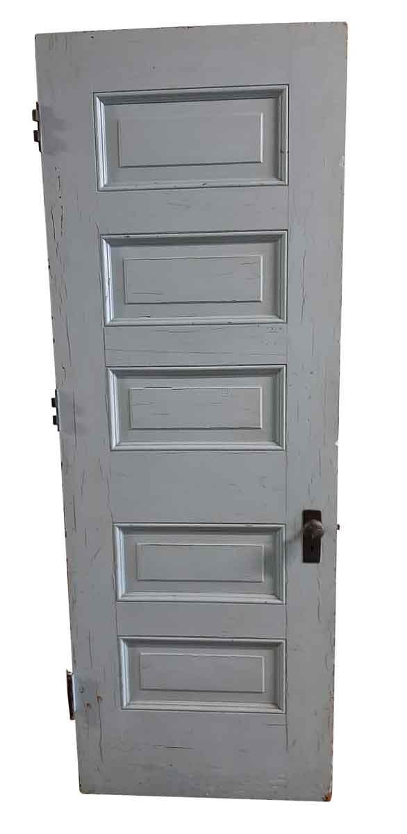 Standard Doors - Antique 5 Pane Wood Passage Door 82.75 x 30