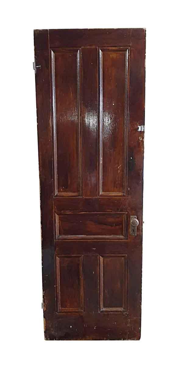 Standard Doors - Antique 5 Pane Wood Passage Door 83.625 x 27.75