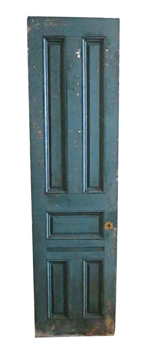 Standard Doors - Antique 5 Pane Wood Passage Door 87.5 x 23.75