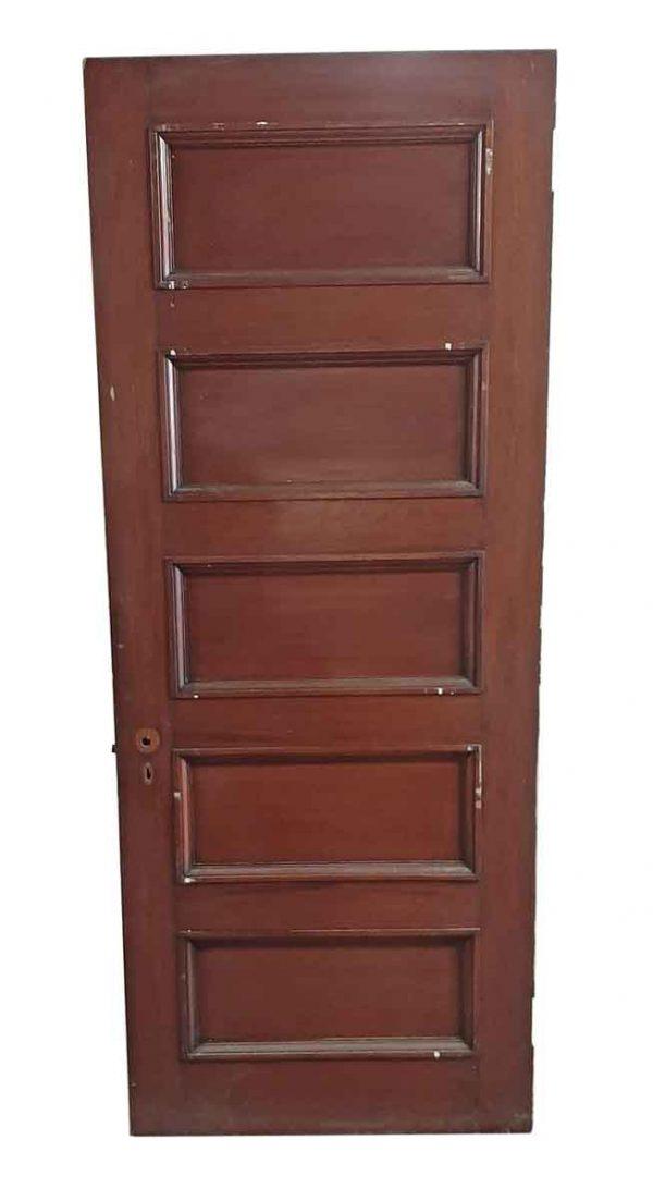 Standard Doors - Antique 5 Pane Wood Passage Door 88.5 x 31.75