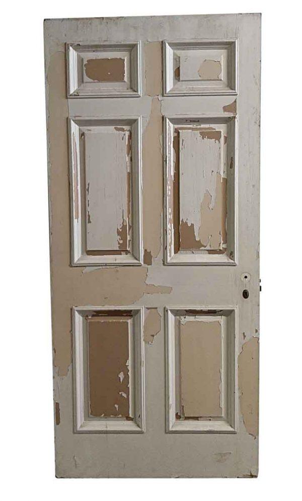 Standard Doors - Antique 6 Pane Painted Passage Door 83 x 38