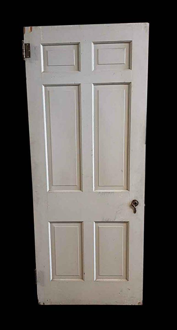 Standard Doors - Antique 6 Pane Wood Passage Door 79.75 x 32
