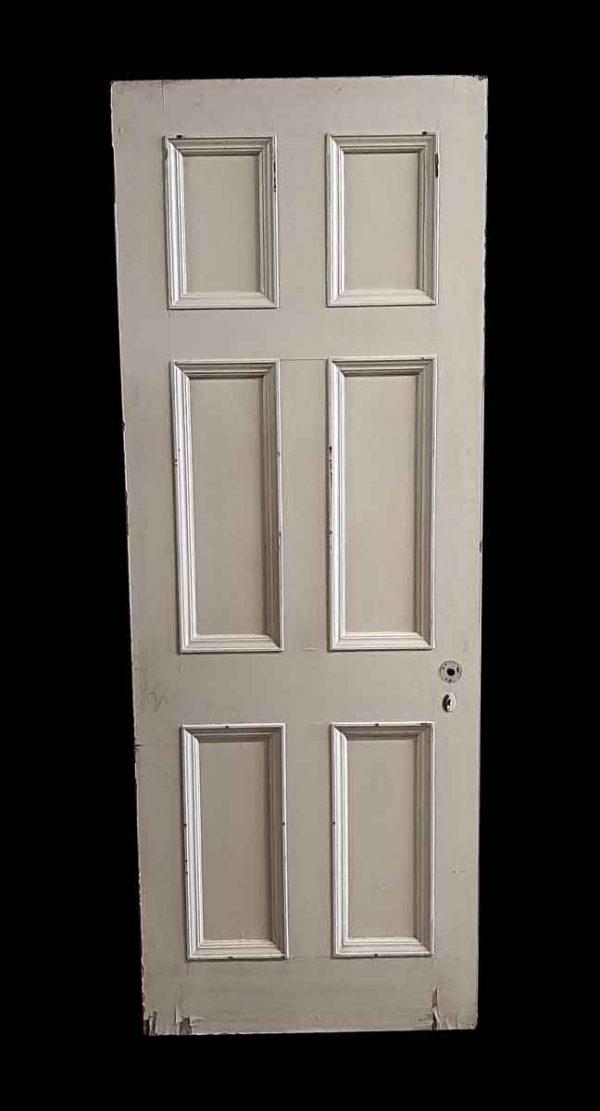 Standard Doors - Antique 6 Pane Wood Passage Door 86.25 x 31.75