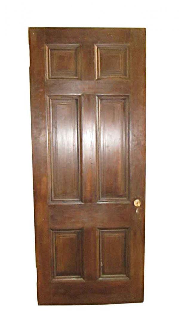 Standard Doors - Antique 6 Pane Wood Passage Door 88.5 x 35.75
