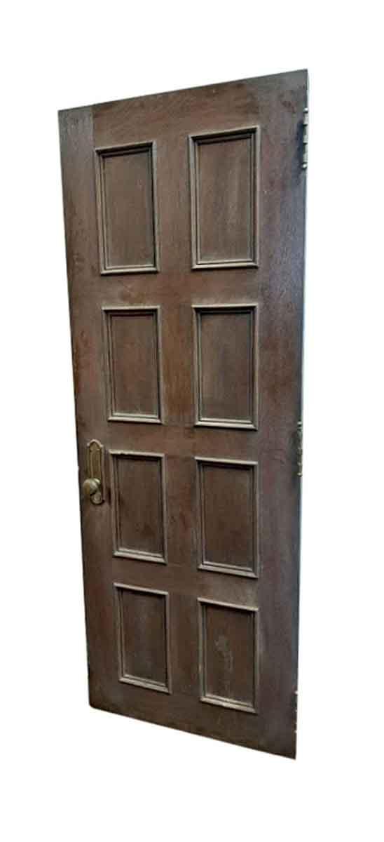 Standard Doors - Antique 8 Pane Oak Passage Door 81.75 x 29.625