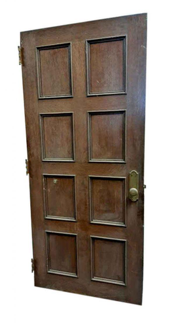 Standard Doors - Antique 8 Pane Oak Passage Door 82 x 37.75