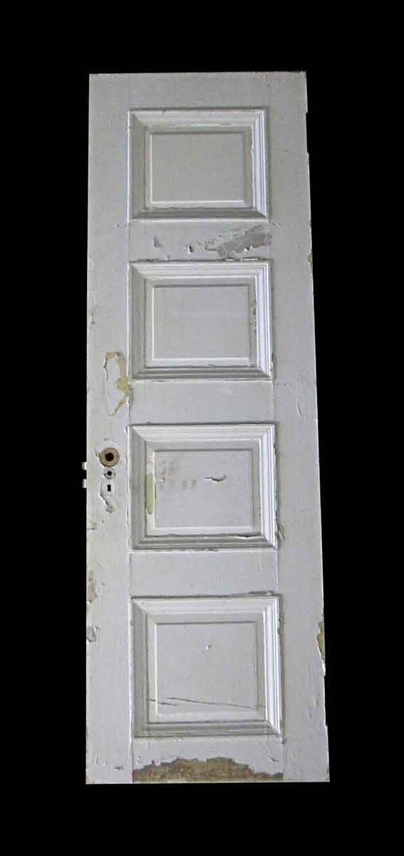 Standard Doors - Antique Lamb's Club 4 Pane Wood Passage Door 80.375 x 26