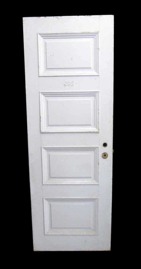 Standard Doors - Antique Lamb's Club 4 Pane Wood Passage Door 82 x 29.5