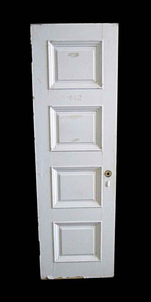 Standard Doors - Antique Lamb's Club 4 Pane Wood Passage Door 82.25 x 25.625