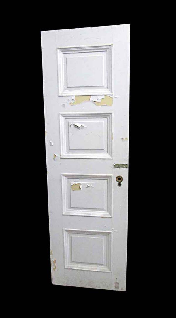 Standard Doors - Antique Lamb's Club 4 Pane Wood Passage Door 82.75 x 25.75
