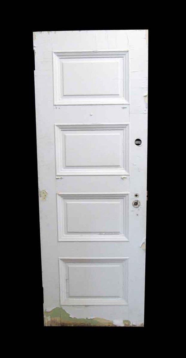 Standard Doors - Antique Lamb's Club 4 Pane Wood Passage Door 83.25 x 29.5