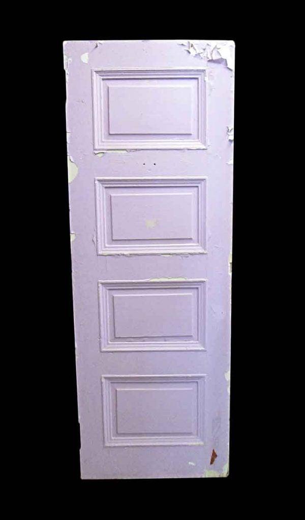 Standard Doors - Antique Lamb's Club 4 Pane Wood Passage Door 83.25 x 29.75