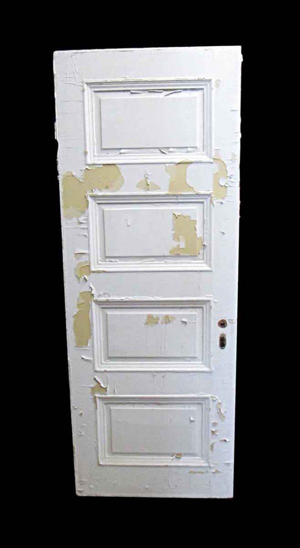 Standard Doors - Antique Lamb's Club 4 Pane Wood Passage Door 83.25 x 31.75
