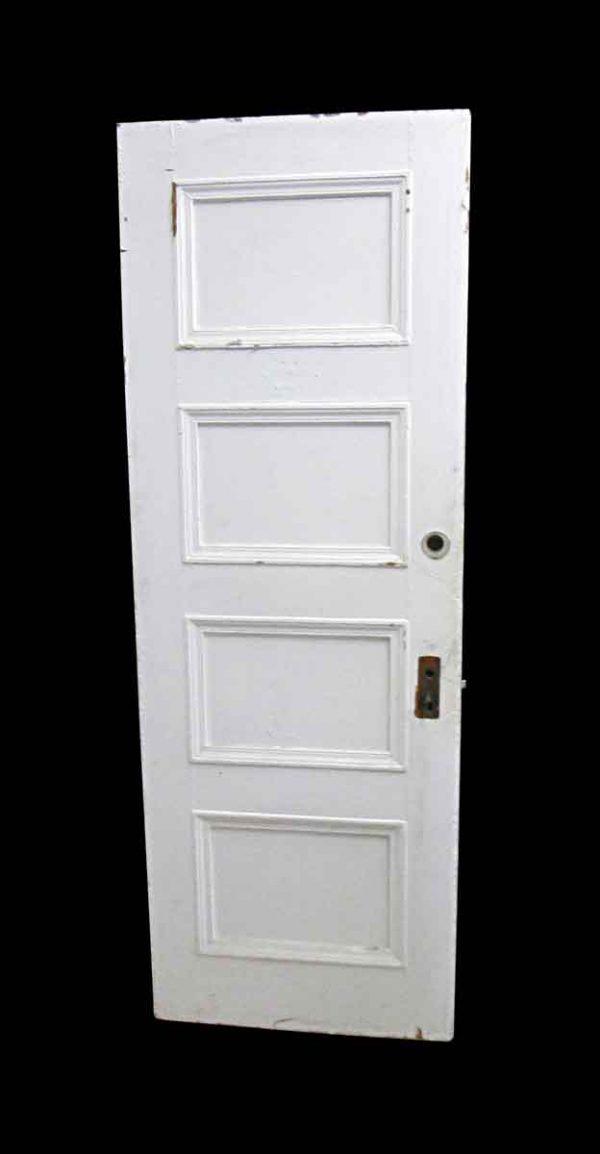 Standard Doors - Antique Lamb's Club 4 Pane Wood Passage Door 83.5 x 29.625