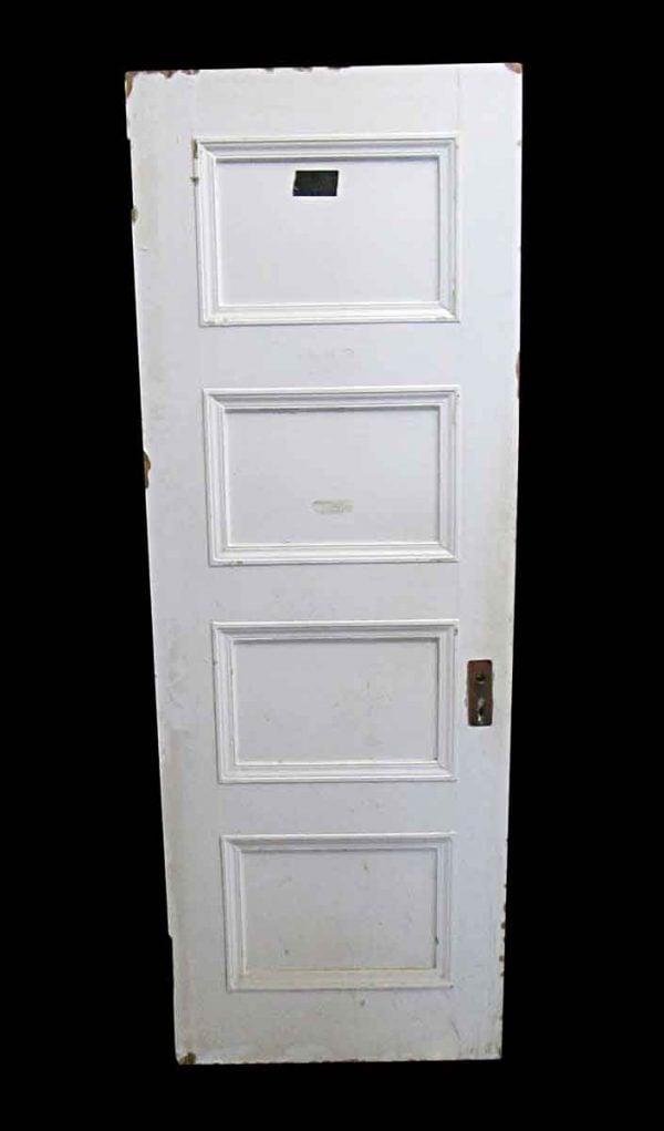 Standard Doors - Antique Lamb's Club 4 Pane Wood Passage Door 84 x 29.75
