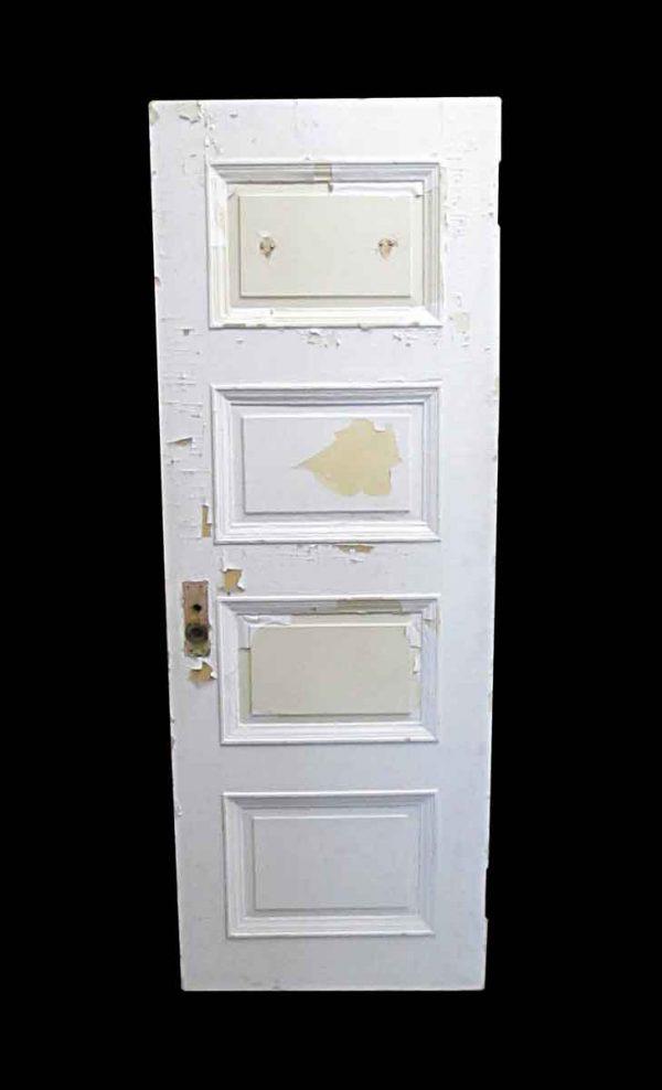 Standard Doors - Antique Lamb's Club 4 Panel Wood Passage Door 82.5 x 29.5