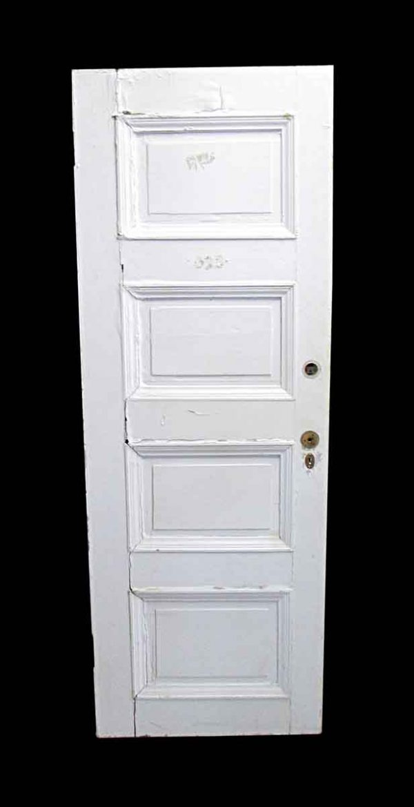 Standard Doors - Antique Lamb's Club 4 Panel Wood Passage Door 82.5 x 29.75