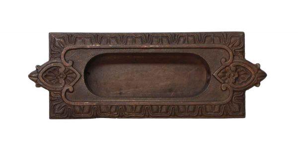 Window Hardware - Victorian Cast Bronze Recessed Window Sash Lift