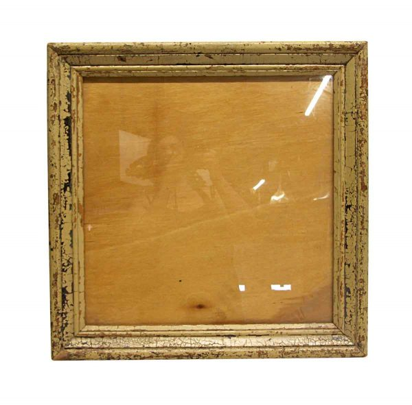 Wood Molding Mirrors - Handmade 19 in. Square Wood Picture Frame
