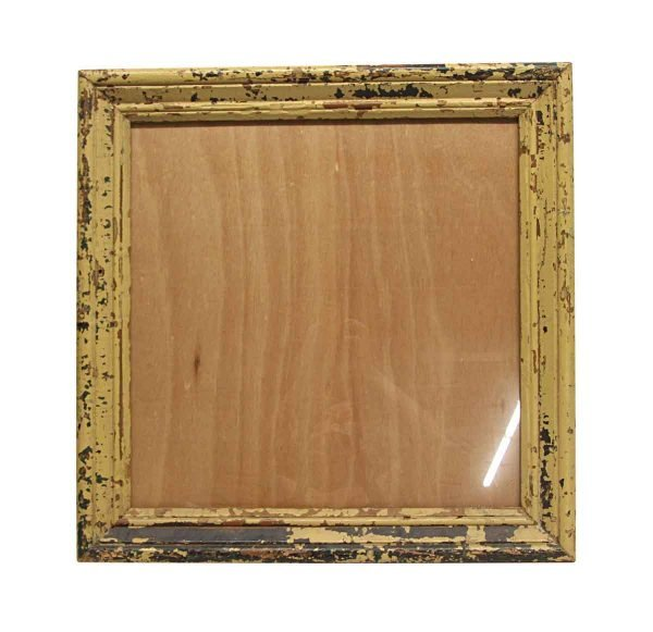 Wood Molding Mirrors - Handmade 19 in. Square Wooden Picture Frame