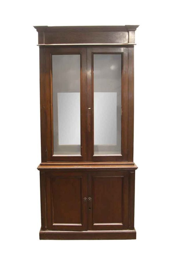 Cabinets - Traditional Wooden China Cabinet