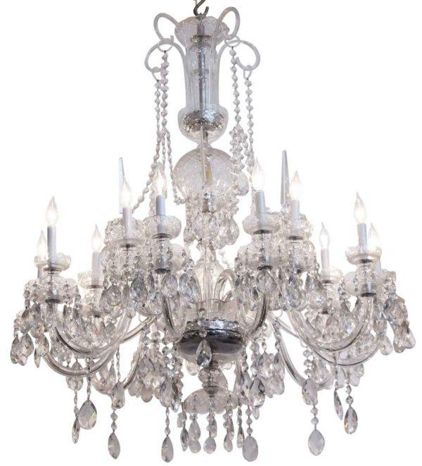Chandeliers - Grand Ballroom Elegant Waterford Crystal Chandelier