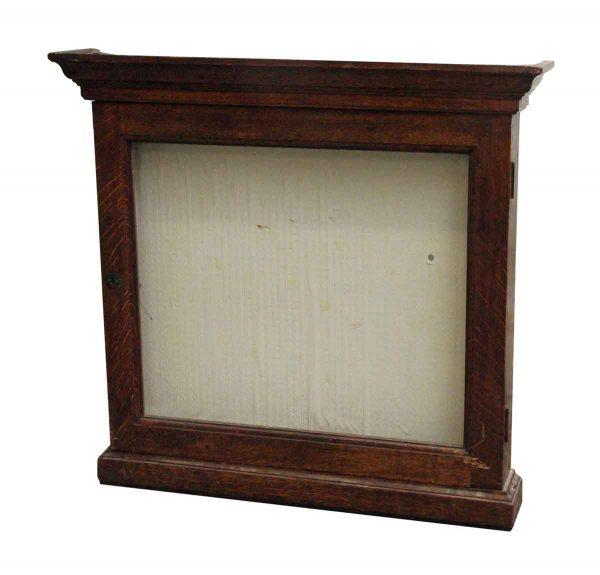 Commercial Furniture - Oak Vintage Display Case