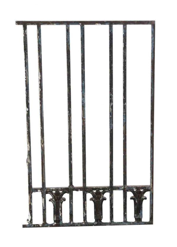 Gates - Black Cast Iron Gate Piece