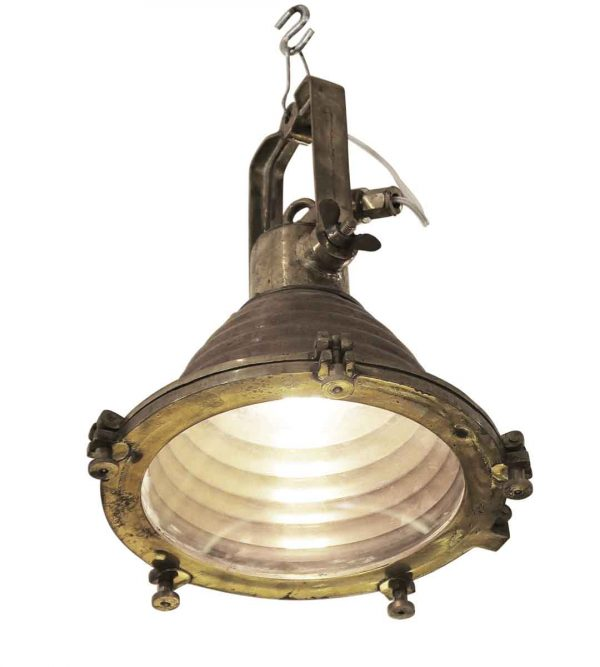 Nautical Lighting - Nautical Copper and Brass Beehive Fox Light