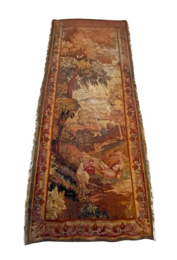 Rugs & Drapery - 19th Century Scenic French Tapestry