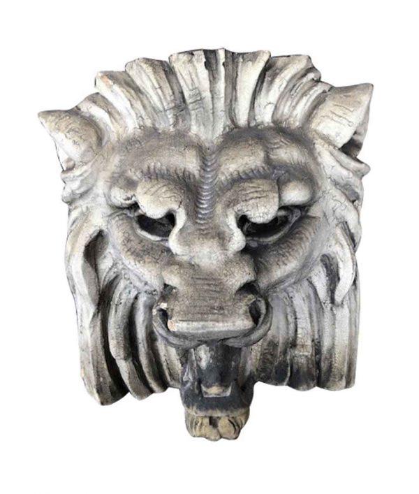 Stone & Terra Cotta - Antique Terra Cotta Lion Head