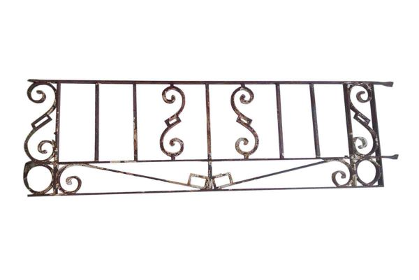 Balconies & Window Guards - Antique Wrought Iron Window Guard or Transom
