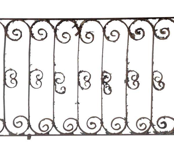 Balconies & Window Guards - Reclaimed New York City Hotel Wrought Iron Balcony Railing