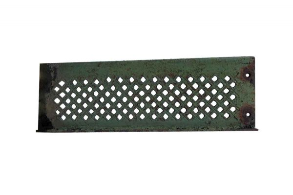 Exterior Materials - Early 20th Century Cast Iron Green Stair Treads