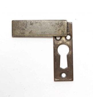 Antique Hardware Escutcheon Key Hole Cover C 1880's Cast Bronze
