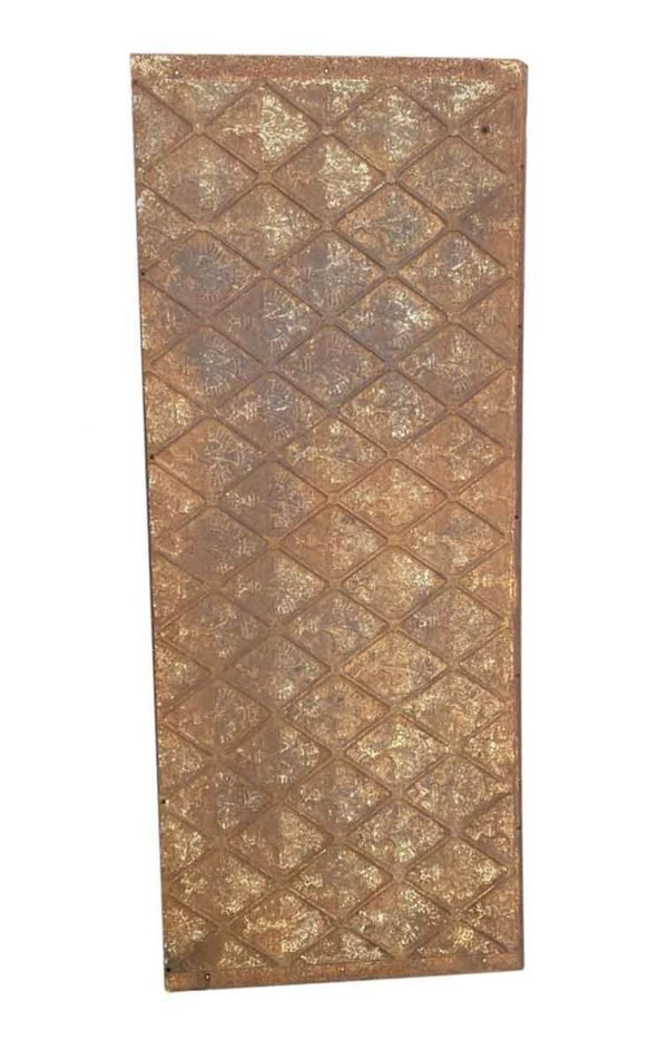 Screens & Covers - Antique Cast Iron Fire Back Plate 65.5 x 27