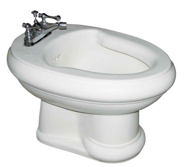 Bathroom - Reclaimed White Kohler Bidet