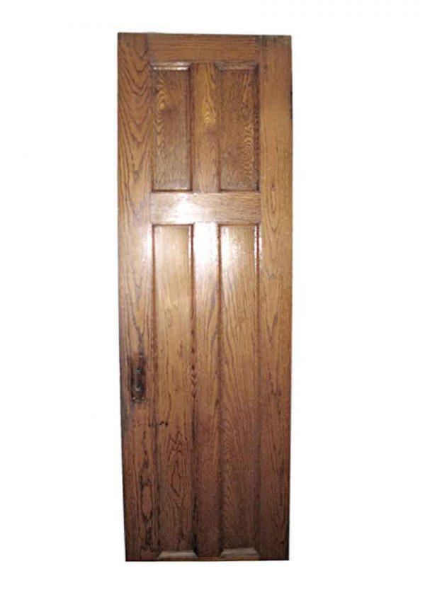 Closet Doors - Vintage Oak Closet Arts & Crafts Door 83 x 24