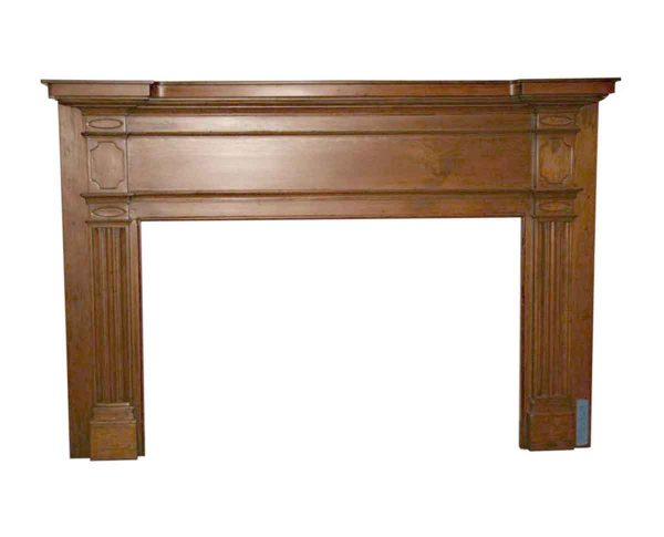 Danny Alessandro Mantels - 19th Century American Pine Mantel with Hand Carved Details