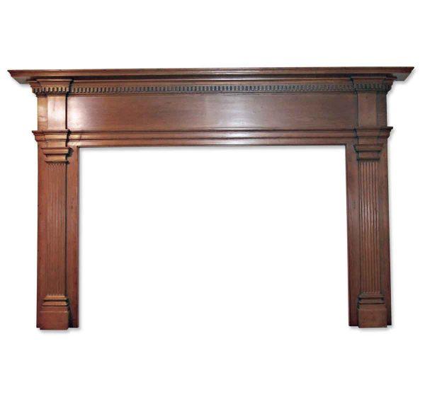 Danny Alessandro Mantels - 19th Century American Pine Wooden Mantel