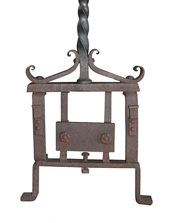 Decorative Metal - Floral Wrought Iron Piece