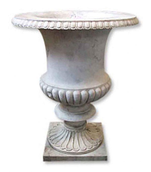 Garden Elements - White Marble Vase Planter Urn