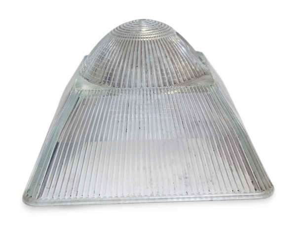 Globes & Shades - Heavy Square Holophane 13.25 in. Glass Shade