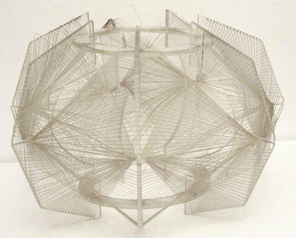 Globes & Shades - Modern Geometric Lucite Light Shade