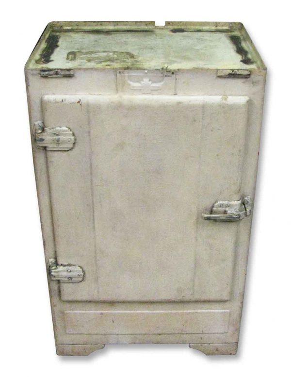 Kitchen - Art Deco Metal Ice Box
