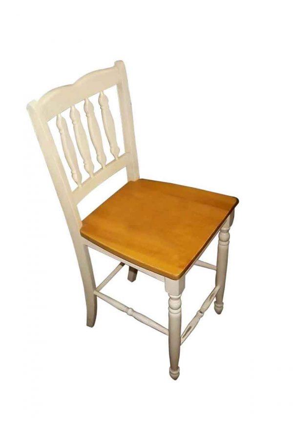 Seating - Vintage White Pine Kitchen Chair
