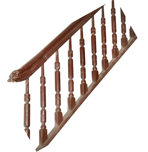 Staircase Elements - Reclaimed 167 in. Spindle Stair Railing