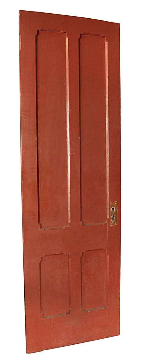 Standard Doors - Antique 4 Pane Gothic Wood Passage Door 95 x 29.5