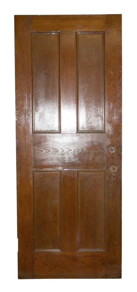 Standard Doors - Antique 4 Pane Wood Passage Door 80 x 31.75