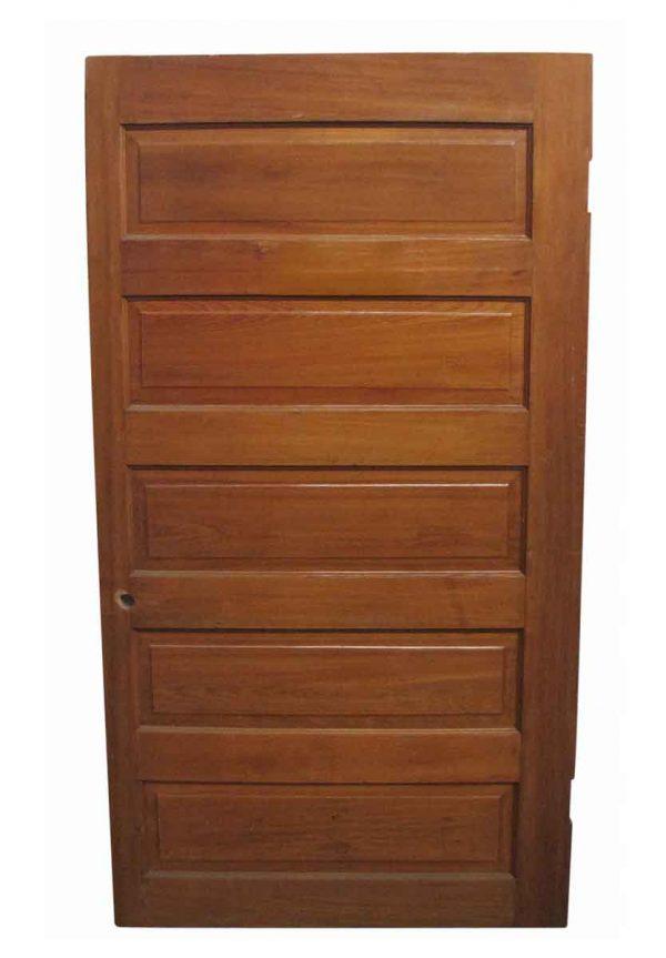 Standard Doors - Antique 5 Pane Pine Passage Door 73.75 x 40.5